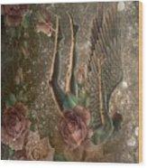 Unicorn Angel Wood Print