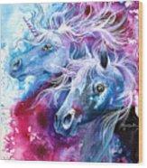 Unicorn Magic Wood Print