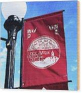 Union Avenue Historic District Wood Print