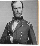 Union General William Tecumseh Sherman 1865 Wood Print