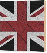 Union Jack Flag Deco Swing Wood Print