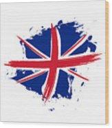 Union Jack - Flag Of The United Kingdom Wood Print
