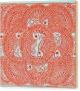 Union  Orange Wood Print
