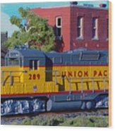 Union Pacific 289 Wood Print