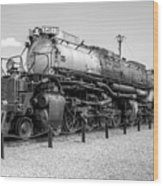Union Pacific 4012 Wood Print