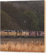 Union Pacific Locomotive Trains . 7d10551 Wood Print