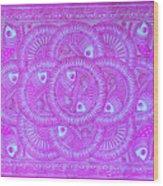 Union Purple Wood Print