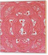 Union  Red Wood Print