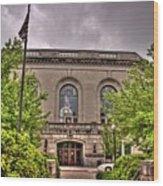 Union Station 1, Joliet, Illinois Wood Print