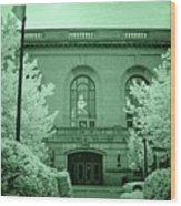 Union Station 2, Joliet, Illinois Wood Print