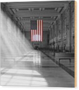 Union Station 2 - Kansas City Wood Print