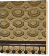 Union Station Ceiling #2 Wood Print