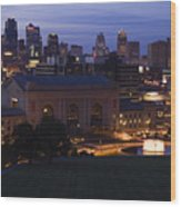 Union Station Kansas City Wood Print