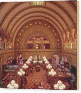 Union Station - St. Louis Wood Print