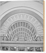 Union Station Washington Dc Wood Print