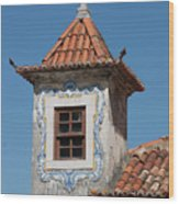 Unique Architecture At Sintra In Portugal Wood Print