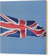 United Kingdom Flag Wood Print