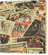United Kingdom Proof Of Post Wood Print