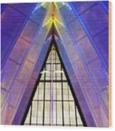 United States Air Force Academy Cadet Chapel 3 Wood Print