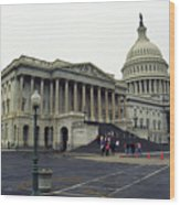 United States Capitol Building 2 Wood Print