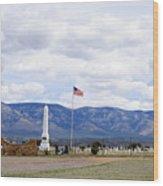 United States Merchant Marine Cemetery Wood Print