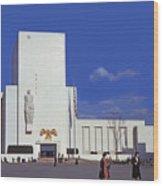 United States Pavilion R Wood Print