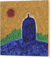 Unititled. Stupa Wood Print