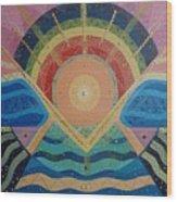 Unity I Oneness Wood Print