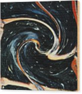 Universe In Motion Wood Print