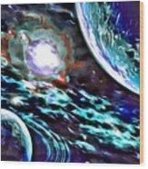Universe #0071 Wood Print