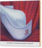 University Of Alabama School Of Nursing Wood Print by Marlyn Boyd