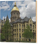 University Of Notre Dame Main Building 1879 Wood Print