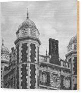 University Of Pennsylvania Quadrangle Towers Wood Print by University Icons