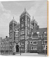 University Of Pennsylvania The Quadrangle Wood Print by University Icons