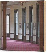 University Tampa Hallway Wood Print