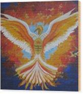 Unleashing The Holy Spirit Wood Print