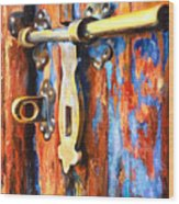 Unlocked Wood Print by Denise H Cooperman