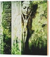Unmasked  Wood Print