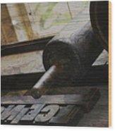 Unnoticed Inner Goings On Wood Print