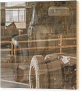 Unpreserved 10 Wood Print