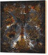 Unsong Wood Print