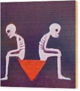 Until Death Do Us Part Wood Print