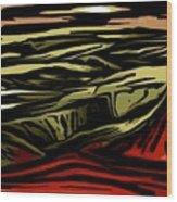 Untitled 02-06-10-b Wood Print