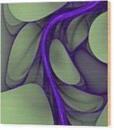 Untitled 02-26-10 Wood Print