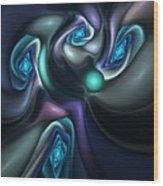 Untitled 04-14-10-b Wood Print
