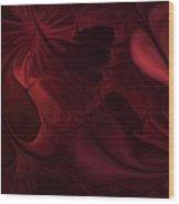 Untitled 1-26-10 Reds Wood Print