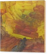 Untitled 117 Original Painting Wood Print