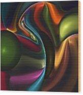 Untitled 4-10-10-a Wood Print