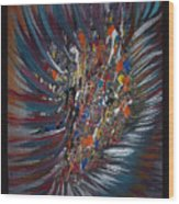 Untitled Abstract Wood Print