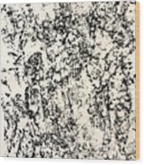 Untitled Black Wood Print